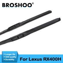 Щетки стеклоочистителя broshoo для lexus rx400h резиновые стандартных