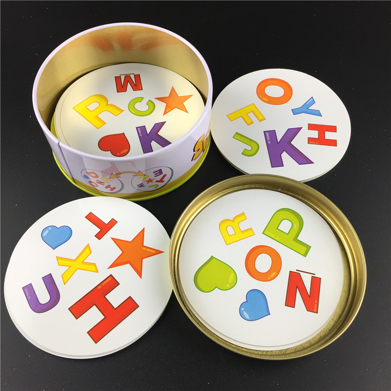Free Shipping Spot Board Games Big Style For Kids Like It Classic Education Dobble Card Game English Version Home Party Fun