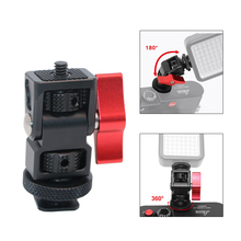 "Hot Shoe Mount Adapter 1/4"" Screw Stand Holder For DJI Osmo DSLR Camera Flash LED Light Monitor Gimbal Accessories"