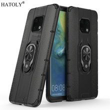 все цены на For Huawei Mate 20 Pro Case For Huawei Mate 20 Pro Protective Case Finger Ring Silicon PC Hard Phone Case For Huawei Mate 20 Pro онлайн