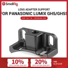 SmallRig Lens Adapter Support for Panasonic Lumix GH5 / GH5S SmallRig Cage 2049 2016 Designed for Metabones EF Mount to M43 Lens