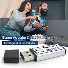 Bezprzewodowa gra wideo konsola USB gry Stick 128G zbudowany w 8782 klasyczne gry gry Adapter konwerter rozszerzenie kij dla Sega MD