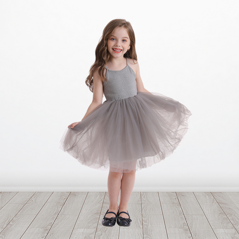 Little Girls Dress For Party Wedding Summer 2021 Baby Kids Dresses for Girls Children's Party Princess Tutu Dress Casual Clothes 3