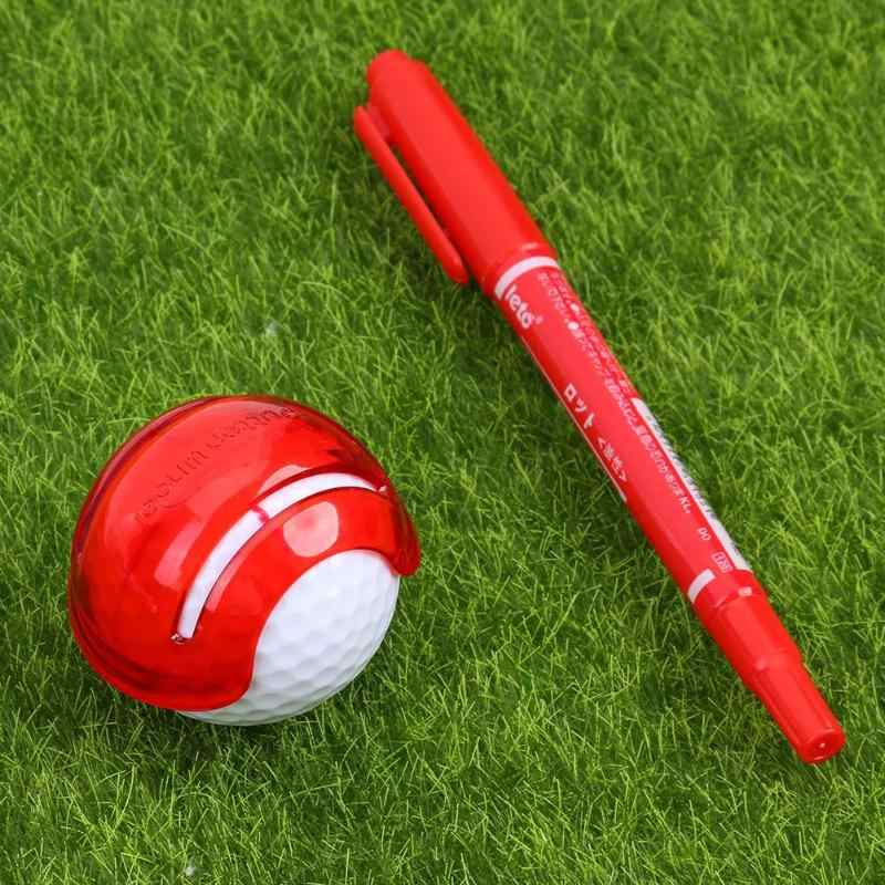 Golf Scribe Accessories Supplies Golf Ball Line Clip Liner Marker Pen Template Alignment Marks Tool Putting 2019 New