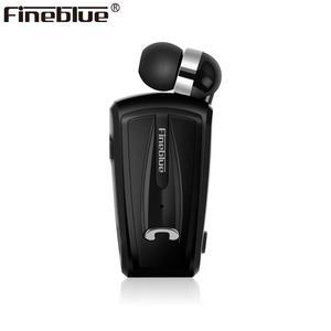 Image 1 - Fineblue F V6 bluetooth 4.1ミニイヤホンステレオbluetoothワイヤレスクリップイヤホンiosのandroid携帯ノイズキャンセルミニ