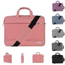 купить Fashion Laptop Bag for MacBook Air Pro 11 13 14 15 15.6 inch Nylon PC Notebook Case Laptop Sleeve Handbag for woman man Computer дешево