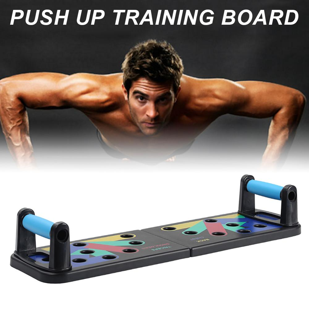 Push Up Board Fitness Kit Multi-purpose Body Building Home Fitness Kit For Men Women With Carrying Pouch Wholesale Dropshipping