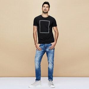 Image 3 - KUEGOU 2020 di Estate Della Stampa di Cotone Bianco Maglietta Degli Uomini della Maglietta di Marca T Shirt Manica Corta Tee Camicia di Modo Più I Vestiti di Formato top 1613