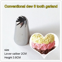 Bakeware Flower Mouth Icing Cake Piping Tips Nozzles Russian Decorating Mouth Kit