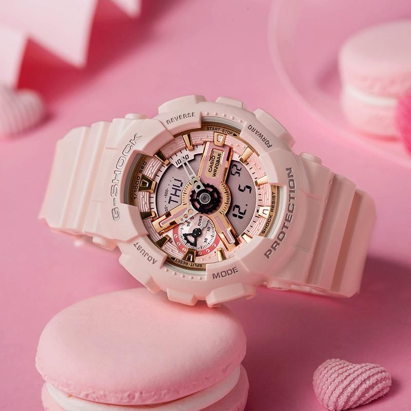 Casio montres à la mode décontracté dames montres GMA S110MP 4A1 - 3