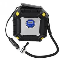 12V 100 PSI Digital Tire Inflator Portable Digital Car Tire Inflator Pump Electrical Air Compressor for Car Bike Ball