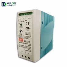 цена на MEAN WELL DRC-40 UPS SMPS Switching Power Supply AC DC Transformer Din Rail Type Security Dual Output 40.02W 13.8V 27.8V 1.9A