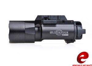Image 2 - عنصر الادسنس Surefir X300 التكتيكية مضيا 370 التجويف مسدس سلاح ضوء Surefir X300U مصباح يدوي للبندقية EX359