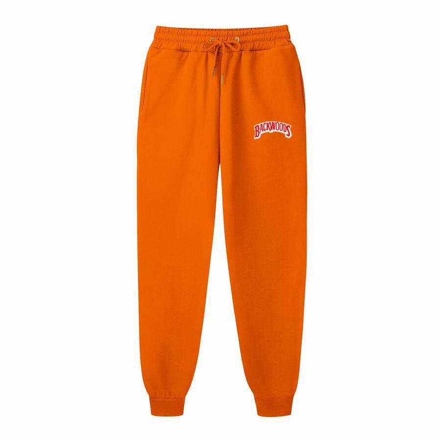Arrival BACKWOODS Mens Pants Male Casual Sweatpants Fitness Workout Hip Hop Elastic Pants Men Clothes Track Joggers Man Trouser