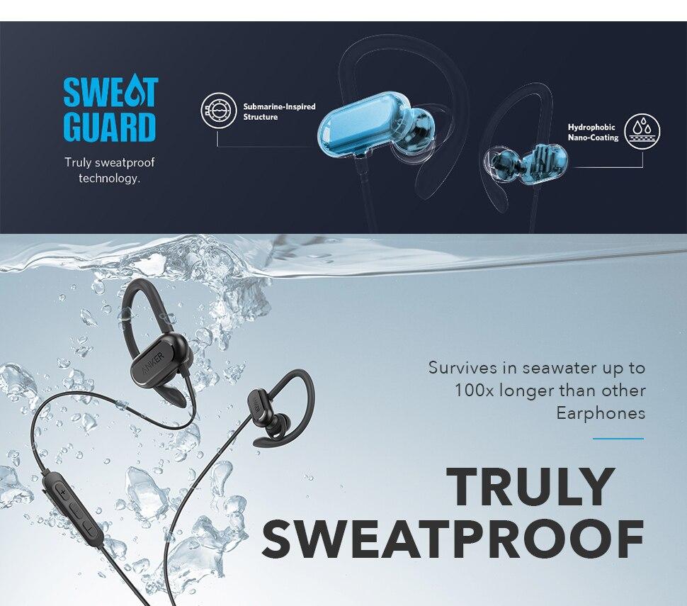 Anker SoundCore Spirit X Wireless Bluetooth Earphones 4