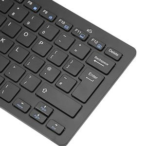 Image 5 - TeckNet Ultra Slim 2.4GHz Cordless Keyboard Wireless Whisper Quiet UK Keyboard For Windows10/8/7/Vista UK Layout Keyboard Design