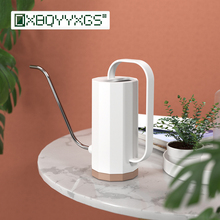 Long mouth watering kettle Succulent plants Garden supplies Home Plastic transparent watering can Simple Geometric design