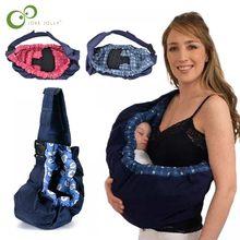 Yenidoğan bebek taşıyıcı kundak bebek Sling bebek hemşirelik Papoose kılıfı ön taşıma Wrap saf pamuk emzirme besleme taşıma çantası ZXH