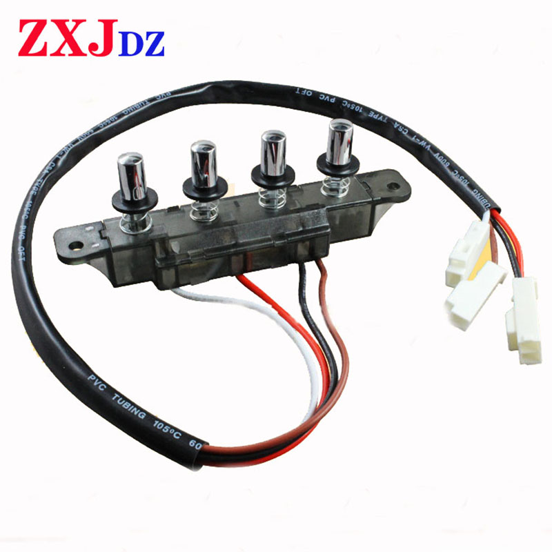 4-button Range Hood Switch Button Universal Accessories Five-button Switch Control Panel Panel Controller