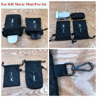 Mavic Mini Drone Remote Controll Storage Soft Bag Protective Case Waterproof Sleeve Hook Storing Bag for DJI Mavic Mini Pro Air