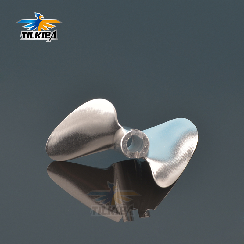 CNC Copper Propeller 2 Bladed 4.76mm 3//16/'/' Shaft Prop Screw Toy RC Boat Model