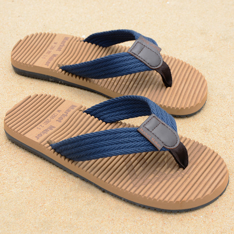 Slippers Men Sandal Men Flip Flops Beach Shoes Light Flat Sandals Brand Slippers Summer Soft Casual Shoes Fashion Slides Outdoor