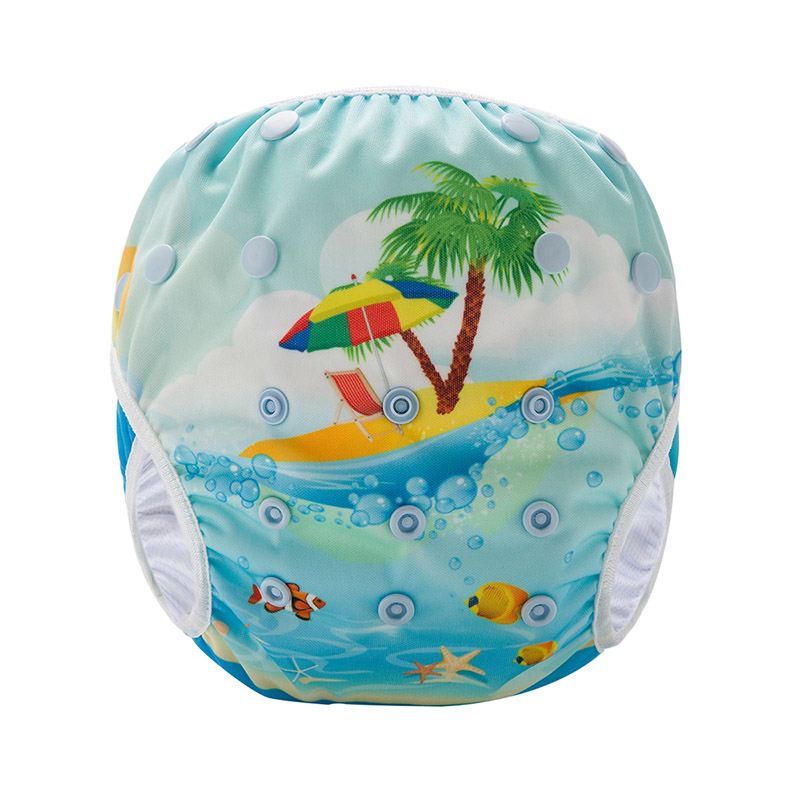 Baby Swimsuit Diaper Reusable Baby Swim Diaper Swim Nappy For Kids SM-DY13