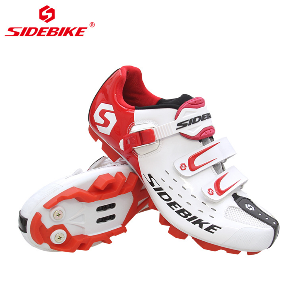Sidebike Cycling shoes MTB bicycle profession riding lock shoes Wear-resistant antiskid Breathable outdoor sports Men bike shoes