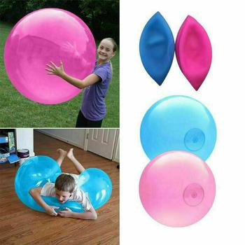 Larger Soft Squishies Air Water Filled Bubble Ball Inflatable Fun Ball Tear-Resistant Super Wubble Bubble Ball Outdoor Balls