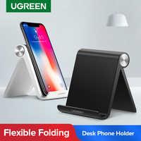 Ugreen Titular Do Telefone Celular Dobrável Suporte Suporte para o iphone X Tablet Samsung S10 Smartphone Suporte Suporte Móvel