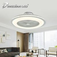 DINGDIAN LED Mordern Ceiling Light Fan C008 80W AC220V Three Speed Fan Lamp Indoor Dimmable Ceiling Fan With Remote Control