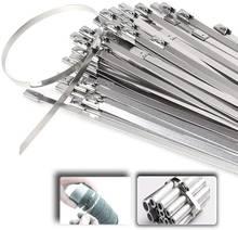 Многофункциональные самоблокирующиеся кабельные стяжки из нержавеющей