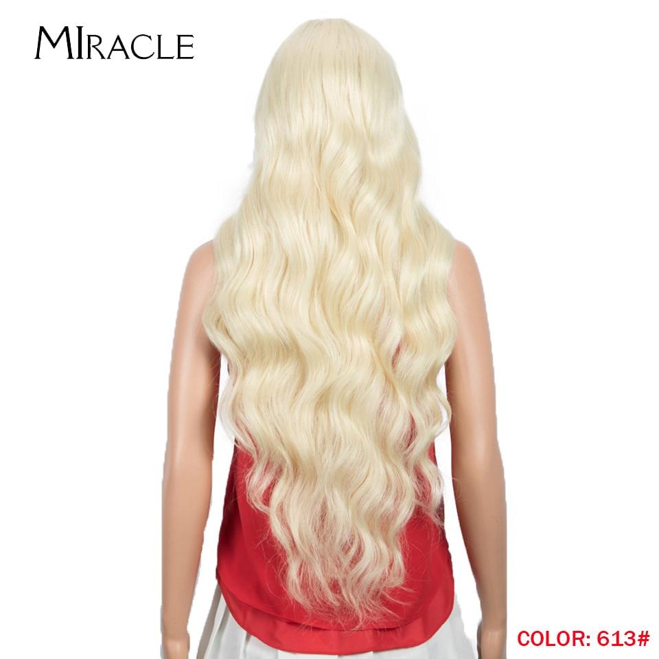 Polegada ombre loira longa solta ondulado lolita peruca