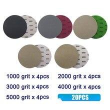 125mm Sandpaper Abrasive Polishing Sanding Disc Silicon Carbide Waterproof