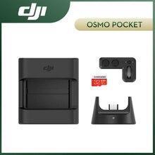 DJI Kit de expansión Osmo Pocket incluye rueda controladora, módulo inalámbrico, soporte de accesorio, tarjeta SD de 32GB, accesorios de Kit originales DJI