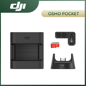 Image 1 - DJI Osmo Pocket Expansion Kit include Controller Wheel Wireless Module Accessory Mount 32GB SD Card DJI Original Kit Accessories