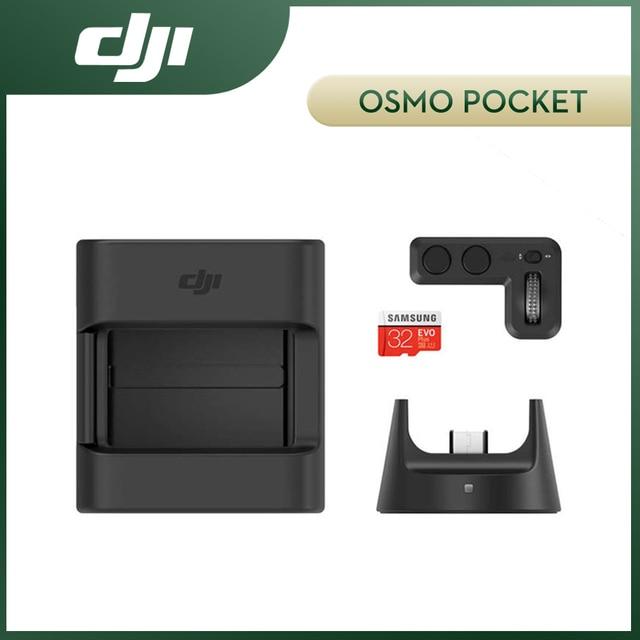DJI Osmo Pocket Expansion Kit include Controller Wheel Wireless Module Accessory Mount 32GB SD Card DJI Original Kit Accessories
