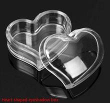 5 пустотелых коробок для теней прозрачные банки коробочки крема