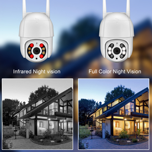 Image 4 - AZISHN 3MP PTZ Wireless IP Camera 4X Digital Zoom Speed Dome 2 Way Audio 1080P Outdoor Waterproof WiFi CCTV AI Human Detection