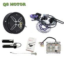 QS205 10Inch 4000W 55H V3 Hub Motor Met Kelly Sinus Controller Met Regeneratieve Functie