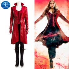 2016 Womens Outfit Scarlet Witch Cosplay Costume Adult Women Halloween Wholesale Factory Price