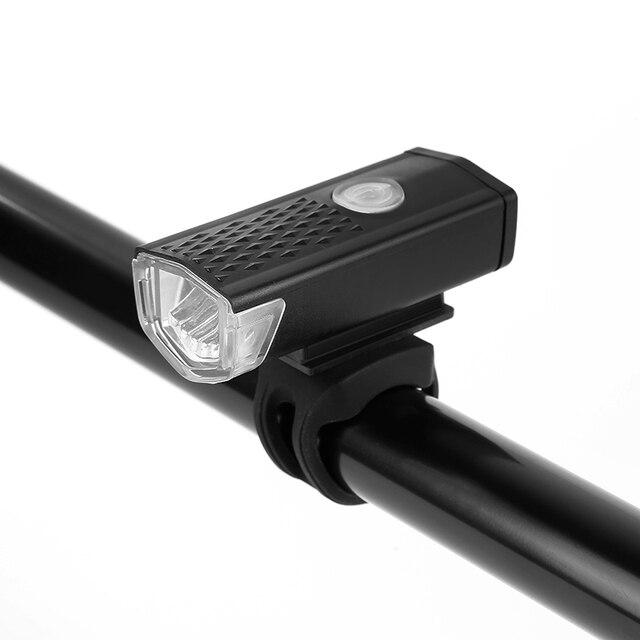 Usb recarregável luzes da bicicleta led frente cabeça luz mtb bicicleta luzes traseiras ciclismo lâmpada lanterna acessórios novo 3