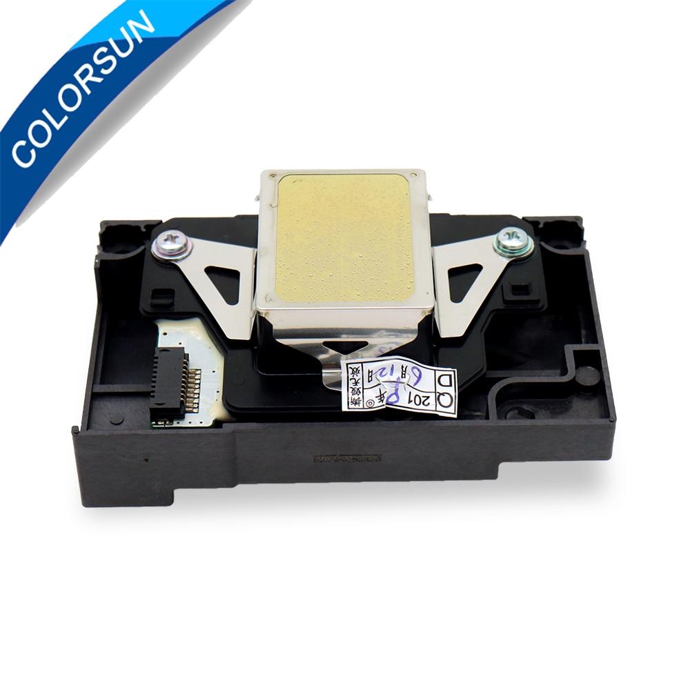 Oryginalny F173050 głowica drukująca głowica drukująca do Epson 1390 1430 R265 R260 R270 R360 R380 R390 RX580 RX590 1400 1410 darmowa wysyłka w Części drukarki od Komputer i biuro na AliExpress - 11.11_Double 11Singles' Day 1