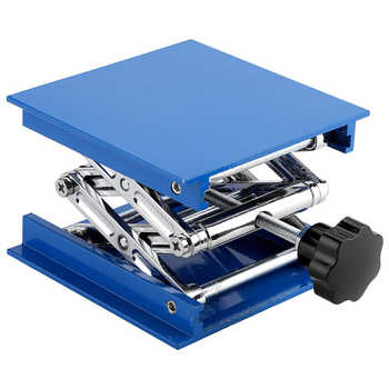 4\'x4\' Aluminum Router Lift Table Woodworking Engraving Lab Lifting Stand Rack Lift Platform Woodworking Benches Lifter - DISCOUNT ITEM  71 OFF Tools