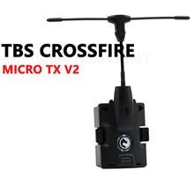 Auf lager Original TBS Team BlackSheep TBS CROSSFIRE MICRO TX V2 CRSF TX 915/868Mhz Long Range Radio system RC Multicopter