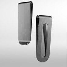 Cash Wallet Bill-Clip Credit-Card Slim-Pocket Business Custom Stainless-Steel QOONG QZ40-008