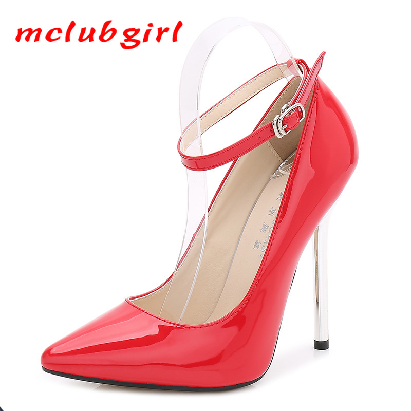 MCLUBGIRL Women Sexy Super High Heels Pumps Ightclubs Classic Professional Large Size High Heels, Single Shoes  WZ