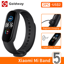Smart Bracelet Mi-Band Amoled-Screen Fitness Traker Xiaomi Bluetooth Sport Waterproof
