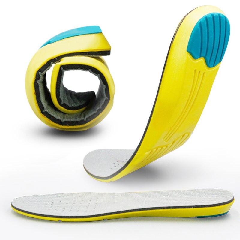 Спортивные стельки для бега с эффектом памяти для ног, стельки для поддержки стопы, дышащие мужские и женские ортопедическая прокладка Стельки      АлиЭкспресс