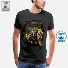 Nightwish Tee T-Shirt Symphonic Metal Band Floor Jansen S M L Xl 2Xl 3Xl Ayreon